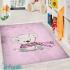 دکتر فرش - فرش کودک - فرش کودک محتشم مدل 100284 رنگ صورتی فرش کودک 1