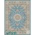 دکتر فرش - 700 شانه - فرش 700 شانه قیطران طرح گلشن رنگ آبی نقره ای گلشن؛ طرحی جدید از فرش قیطران 1