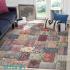 دکتر فرش - فرش چهل تکه - فرش چهل تکه محتشم مدل 100501 چند رنگ فرش چهل تکه 1