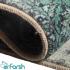 دکتر فرش - فرش چهل تکه - فرش چهل تکه محتشم مدل 100501 رنگ سبز آبی فرش چهل تکه 1