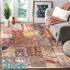 دکتر فرش - فرش چهل تکه - فرش چهل تکه محتشم مدل 100508 چند رنگ فرش چهل تکه 1