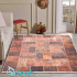 دکتر فرش - فرش چهل تکه - فرش چهل تکه محتشم مدل 100511 رنگ نارنجی فرش چهل تکه 1