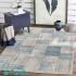 دکتر فرش - فرش چهل تکه - فرش چهل تکه محتشم مدل 100512 رنگ خاکستری فرش چهل تکه 1