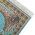 دکتر فرش - فرش اصیل - فرش اصیل محتشم مدل 100902 رنگ فیروزه ای فرش اصیل 1