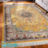 دکتر فرش - فرش اصیل - فرش اصیل محتشم مدل 100910 رنگ خردلی فرش اصیل 1