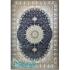 دکتر فرش - 1200 شانه میکرو اکریلیک - فرش 1200 شانه قیطران طرح الهه رنگ سرمه ای الهه؛ طرحی جدید از قیطران - تصویر کوچک