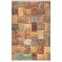 دکتر فرش - فرش چهل تکه - فرش چهل تکه محتشم مدل 100501 رنگ قهوه ای فرش چهل تکه - تصویر کوچک
