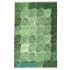 دکتر فرش - فرش چهل تکه - فرش چهل تکه محتشم مدل 100507 رنگ سبز فرش چهل تکه - تصویر کوچک