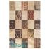 دکتر فرش - فرش چهل تکه - فرش چهل تکه محتشم مدل 100508 رنگ کرم فرش چهل تکه - تصویر کوچک