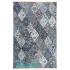 دکتر فرش - فرش چهل تکه - فرش چهل تکه محتشم مدل 100509 رنگ آبی فرش چهل تکه - تصویر کوچک