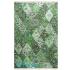 دکتر فرش - فرش چهل تکه - فرش چهل تکه محتشم مدل 100509 رنگ سبز فرش چهل تکه - تصویر کوچک