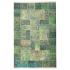 دکتر فرش - فرش چهل تکه - فرش چهل تکه محتشم مدل 100511 رنگ سبز فرش چهل تکه - تصویر کوچک