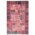 دکتر فرش - فرش چهل تکه - فرش چهل تکه محتشم مدل 100511 رنگ قرمز فرش چهل تکه - تصویر کوچک